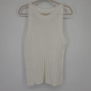 4/$25 Gap Chunky Sweater Knit Sleeveless Tank Top